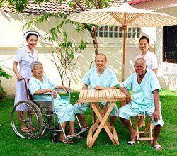 ดูแลผู้ป่วย ดูแลผู้สูงอายุ